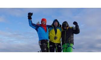 Антарктика 2014 - на билото на Тангра планина