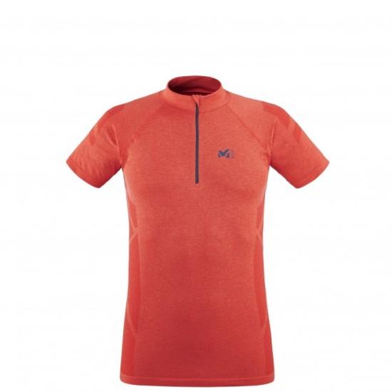 Тениската LTK SEAMLESS LIGHT ZIP - червена