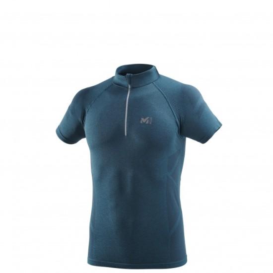 Тениската LTK SEAMLESS LIGHT ZIP - синя