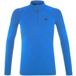 Термо бельо NATTAI SEAMLESS ZIP - Светло синьо