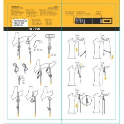 Осигурителен ремък за арбористи JINGLE 100 см. с ХАЛКИ