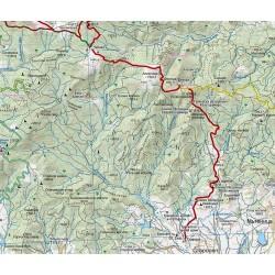 Туристическа карта Средна гора  Domino