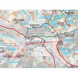 Туристическа карта РИЛА Domino