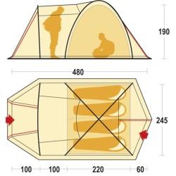 Палатка ORBIT 4