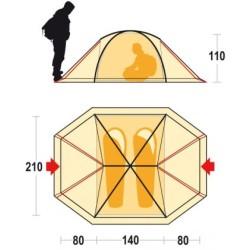 Палатка SVALBARD 2